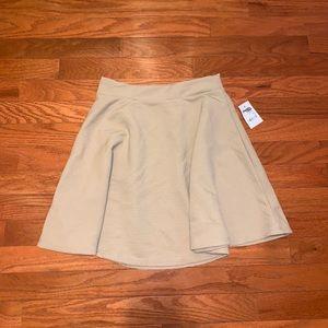 Nude Skater Skirt